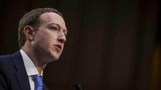 """I buoni propositi di Zuckerberg: """"Nel 2019 dibattiti sul futuro della tecnologia"""""""