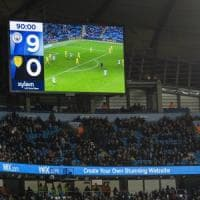 Coppa di Lega inglese, il Manchester City è esagerato: 9-0 al Burton