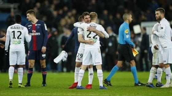 Francia, Coppa di Lega: clamoroso colpo del Guingamp, Psg eliminato