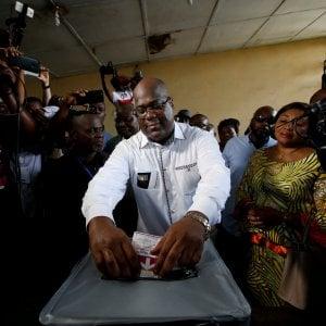 Congo, vince il leader dell'opposizione Tshisekedi