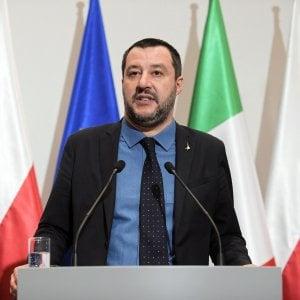 Salvini: ''Il Napoli sbaglia se si ferma per i cori razzisti''