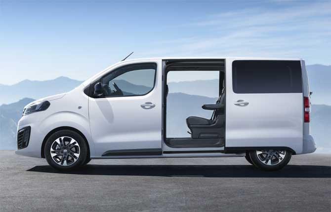 Opel, tutta nuova la Zafira Life