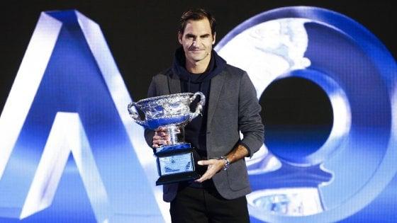 Tennis, Australian Open: possibile semifinale Federer-Nadal, strada in salita per la Halep