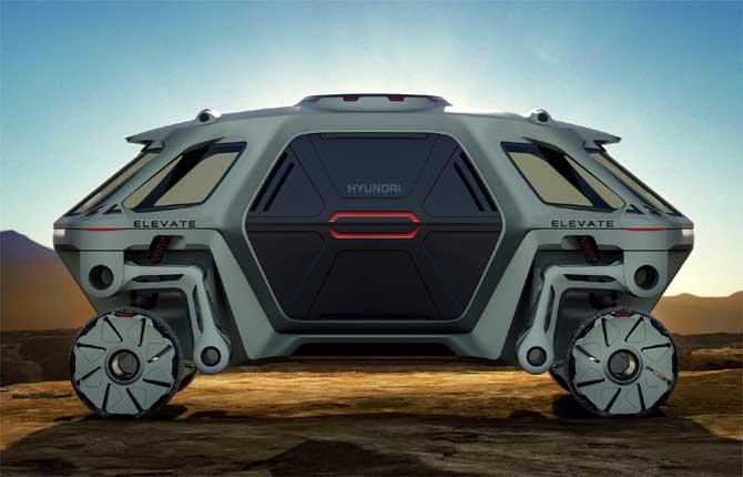 Hyundai Elevate, quando l'auto diventa un robot