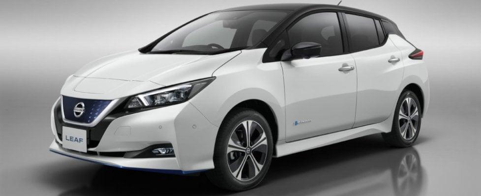 Nissan Leaf 3.Zero, viaggi più lunghi
