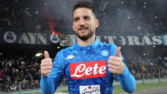 """Napoli, Mertens: """"Qui mi sento a casa, voglio vincere qualcosa"""""""