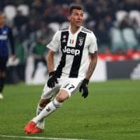 Juventus, si ferma Mandzukic: a rischio la Supercoppa