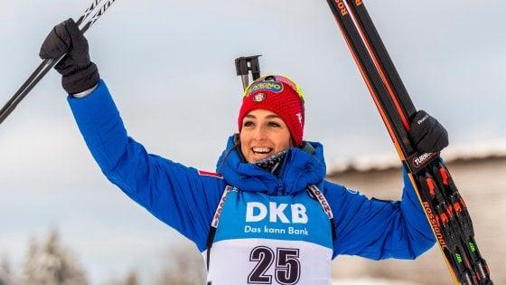 Calendario Biathlon.Biathlon Lisa Vittozzi Trionfa Nella Sprint Di Oberhof