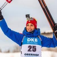 Biathlon, Lisa Vittozzi trionfa nella sprint di Oberhof: prima vittoria in coppa del mondo