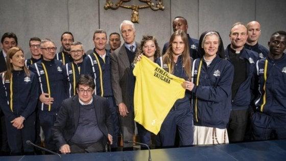 """Al via Athletica, la squadra di runner del Vaticano. """"Il sogno è andare alle Olimpiadi"""""""