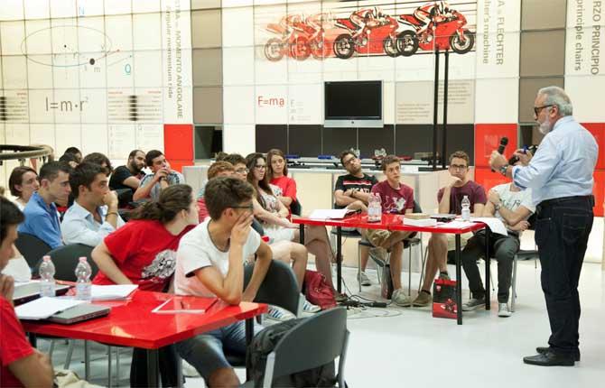 Ducati for Education, non solo moto