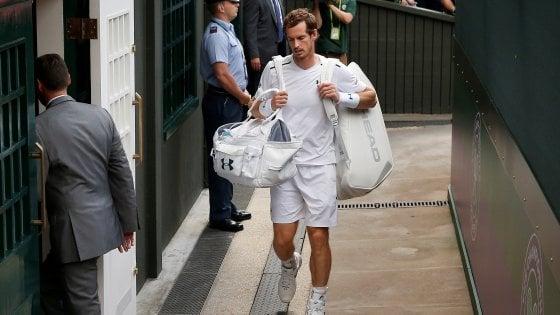 """Tennis, Murray si ritira: """"Troppo dolore, non posso andare avanti"""""""