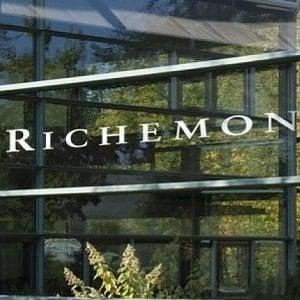 Richemont, le vendite crescono del 25%