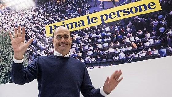 """Pd, la proposta Zingaretti per le europee: """"Il simbolo non è un dogma: costruiamo una lista aperta"""". Il sì di Calenda"""
