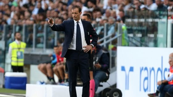 """Juventus, Allegri: """"Razzismo? Tutti a riempirsi la bocca di slogan ma poca concretezza"""""""