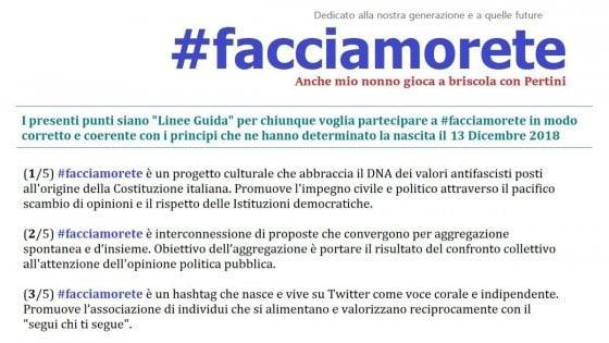 Il successo dell'hashtag #facciamorete: un'opposizione al governo che parte dal web