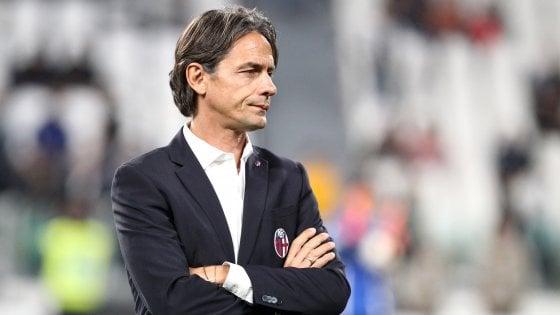 """Bologna, Inzaghi: """"La Juve? Ci credo, infatti schiero i migliori"""""""