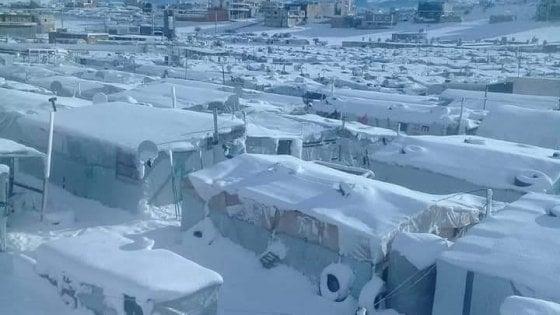 Quella foto fake di Amatrice sotto la neve che in realtà è il Libano