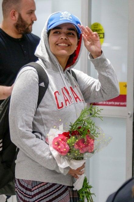Canada, arrivata a Toronto la giovane saudita fuggita dalla famiglia e aiutata dall'Onu