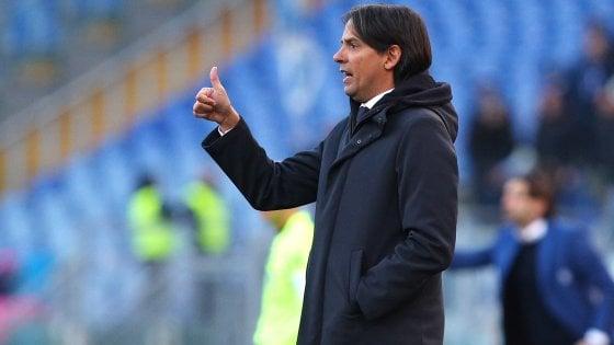 """Lazio, Inzaghi: """"Visto giusto spirito, ai quarti con merito"""""""
