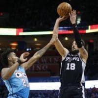 Basket, Nba: Gallinari e Belinelli brillano ma Clippers e Spurs perdono