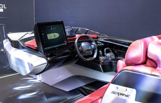 Peugeot, un premio per il il Sea Drive Concept