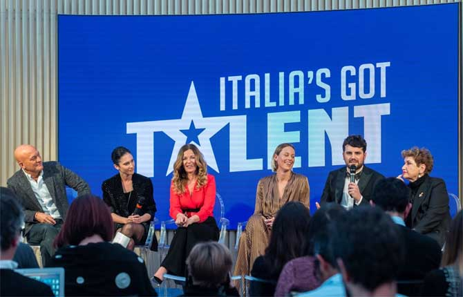 "Volvo show all'""Italia's Got Talent"""