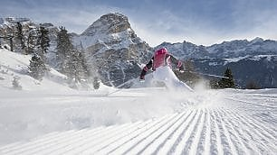 Val Badia. La neve perfetta