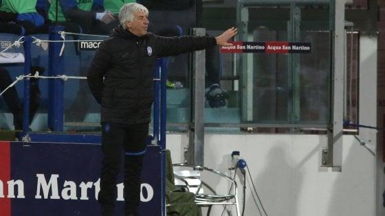 """Atalanta, Gasperini: """"Chissà che stavolta con la Juve..."""""""