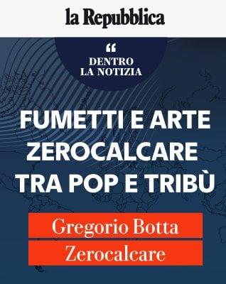 """Botta e Zerocalcare: """"Fumetti e arte, tra Pop e Tribù"""""""