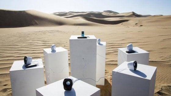 Africa dei Toto risuonerà nel deserto della Namibia