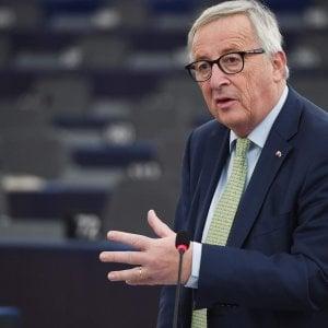 Ue, mea culpa di Juncker: Durante la crisi austerità avventata. Poca solidarietà con i greci