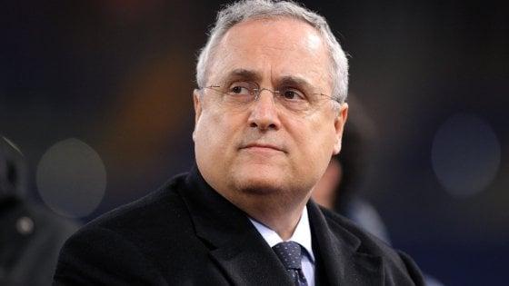 """Lazio, Lotito: """"Zappacosta? Il mercato non è fatto dalle figurine"""""""