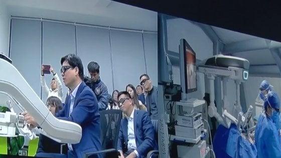 Cina, primo intervento chirurgico in remoto con 5G