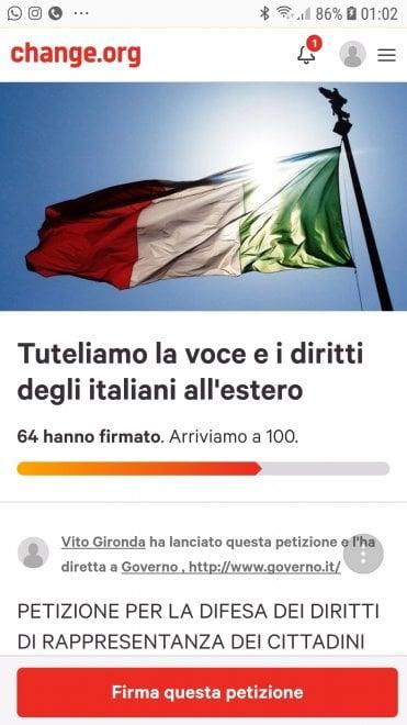 Diritto rappresentanza la petizione su degli for Numero parlamentari italiani