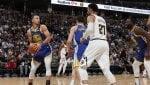 Golden State travolge Denver, ok Milwaukee e Lakers