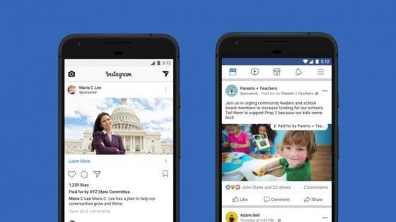Facebook, le regole americane per la pubblicità politica anc