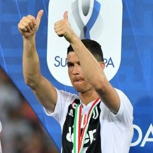 "Juventus, Ronaldo: ""Felice per il mio primo trofeo in bianconero"""