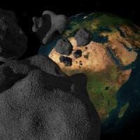 Asteroidi, impatti sulla Terra triplicati in 290 milioni anni