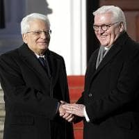 "Mattarella in visita a Berlino: ""La Ue non è un comitato d'affari"""