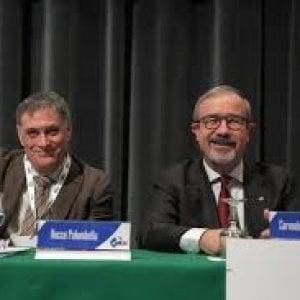 Carmelo Barbagallo (a destra) e Rocco Palombella