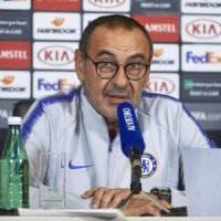 Chelsea, Sarri: ''Higuain? Non so nulla, aspetto notizie''
