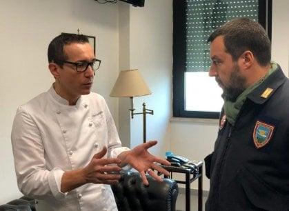 Napoli, incontro riservato tra Gino Sorbillo e Matteo Salvini