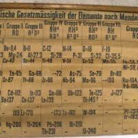 In Scozia la più antica tavola periodica degli elementi mai ritrovata