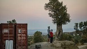 Reportage da Lesbo, l'isola che resiste