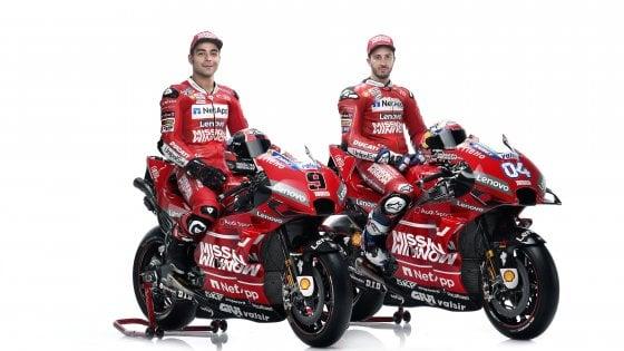 """MotoGp: ecco la Ducati 2019. Dovizioso: """"Lotterò per il titolo"""""""