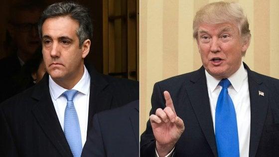 Trump ordinò a Cohen di mentire al Congresso