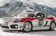 Porsche Cayman GT4 Rallye Concept