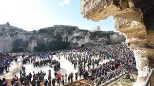 A Matera è il giorno della festa, da oggi è Capitale europea della cultura