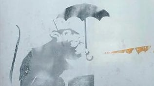 Mistero nel metrò: in Giappone un nuovo graffito di Bansky?